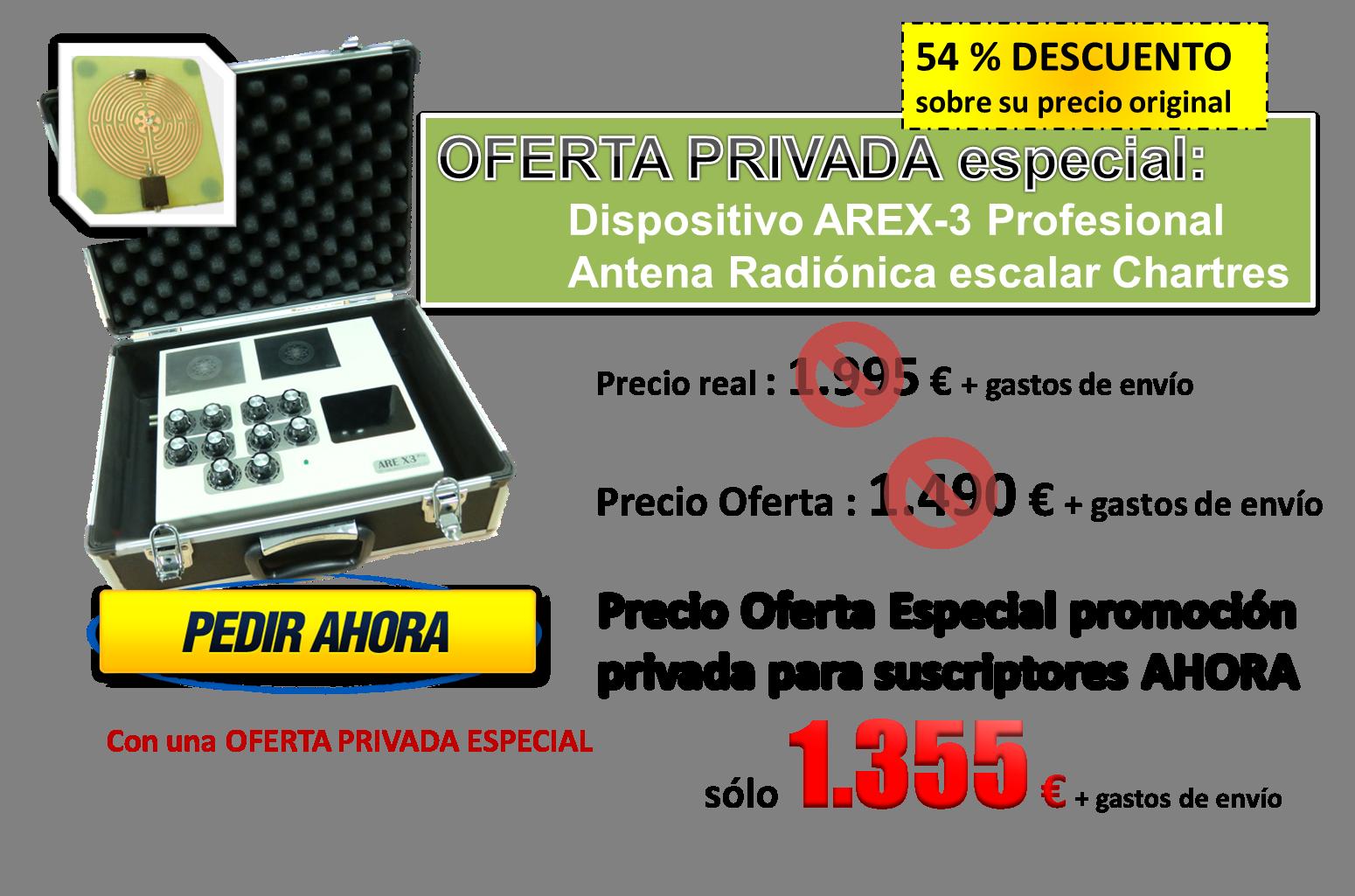 Oferta Privada AREX3-1